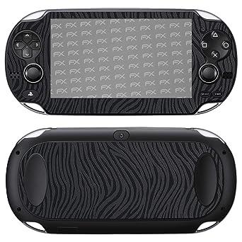 atFoliX Skin compatible con Sony PlayStation Vita, Sticker ...