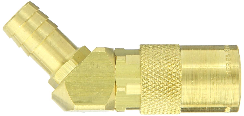 3//8 Body 1//2 Hose ID 3//8 Body Eaton Hansen FTS328 Brass 45 Degree Hose Stem Hydraulic Fitting Socket 1//2 Hose ID