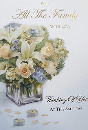 for all the family with deepest sympathy card - Deepest Sympathy Card
