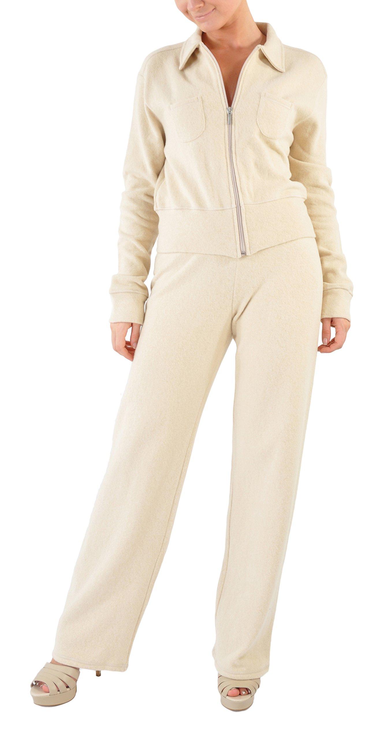 Zimmerli Luxury Loungewear/Warm Ups - Medium/Sand