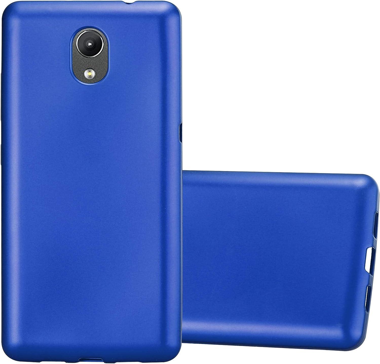 Cadorabo Funda para Lenovo P2 en Metallic Azul – Cubierta ...