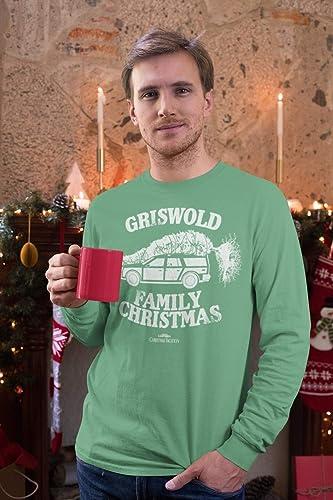 Griswold Family Christmas Vacation 1989 Mens Crewneck Tee Pajamas