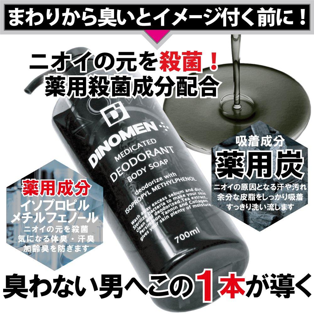 臭いを徹底排除するボディソープ