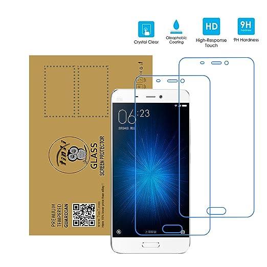 342 opinioni per tinxi® 2 x Protezione invisibile schermo vetro temperato per Xiaomi Mi5 (5,15