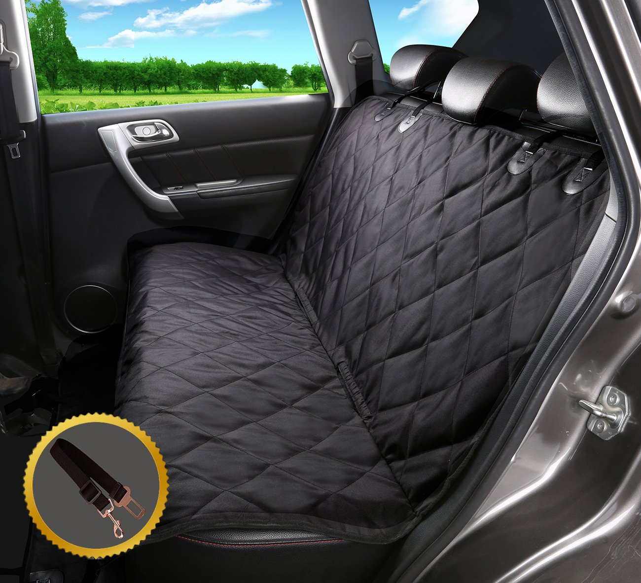 in accessories home dog mat seat slip protector item blanket window hammock mesh pet car from non waterproof carriers quilted cover viewing back