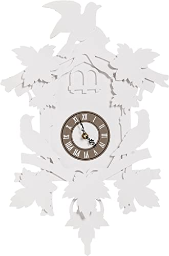 Fundeco Large Cuckoo Clock-White