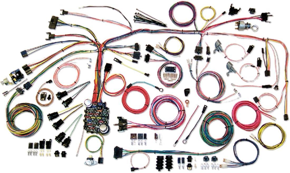 amazon.com: american autowire 500661 wire harness system for 67-68 camaro:  automotive  amazon.com