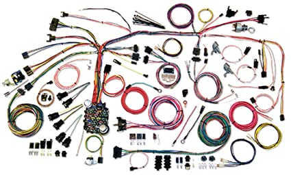 amazon com american autowire 500661 wire harness system for 67 68 rh amazon com 67 camaro engine wiring harness 67 camaro ls wiring harness