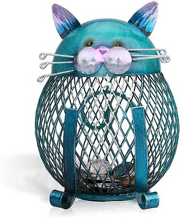 Esta es una hermosa forma de cajas de monedas gato.,Se ve muy agradable y amable.,El cuerpo de gato