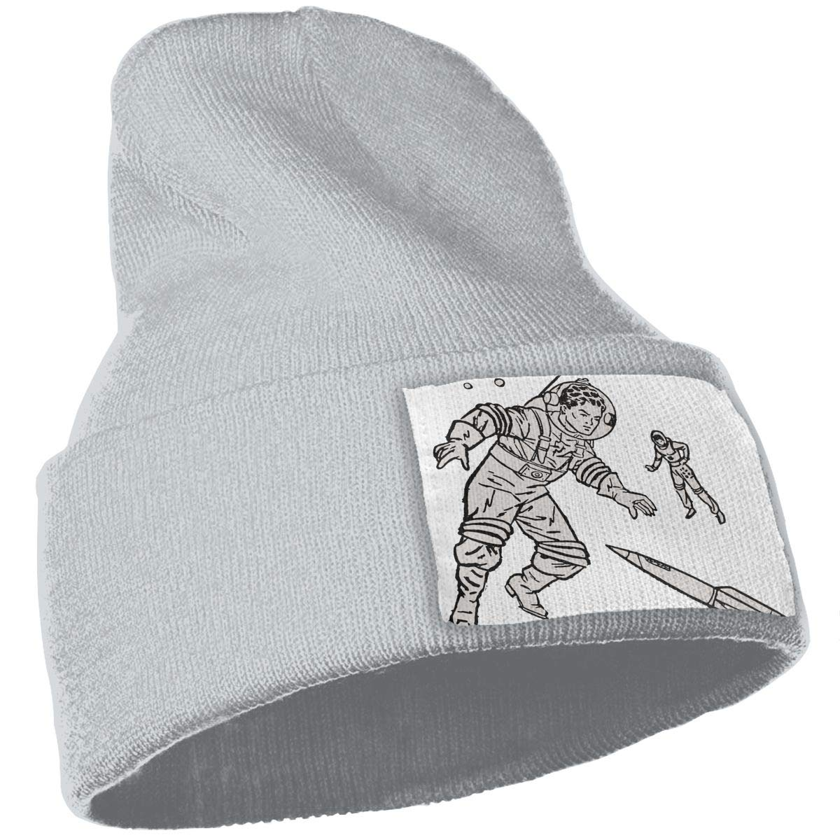 QZqDQ Space Astronaut Unisex Fashion Knitted Hat Luxury Hip-Hop Cap