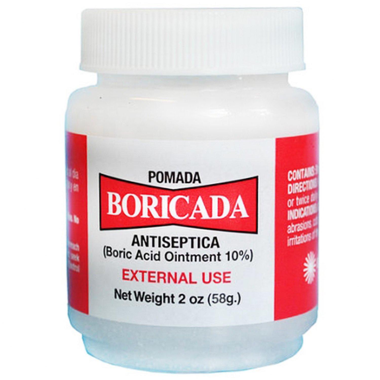 Pomada Boricada Antiseptica Boric Acid Oiment 10% 2oz (58g)