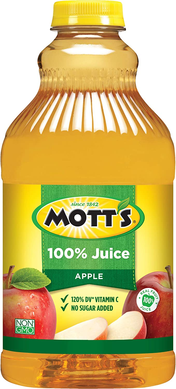 Mott's Original Apple 100% Juice, 64 Fluid Ounce Bottle