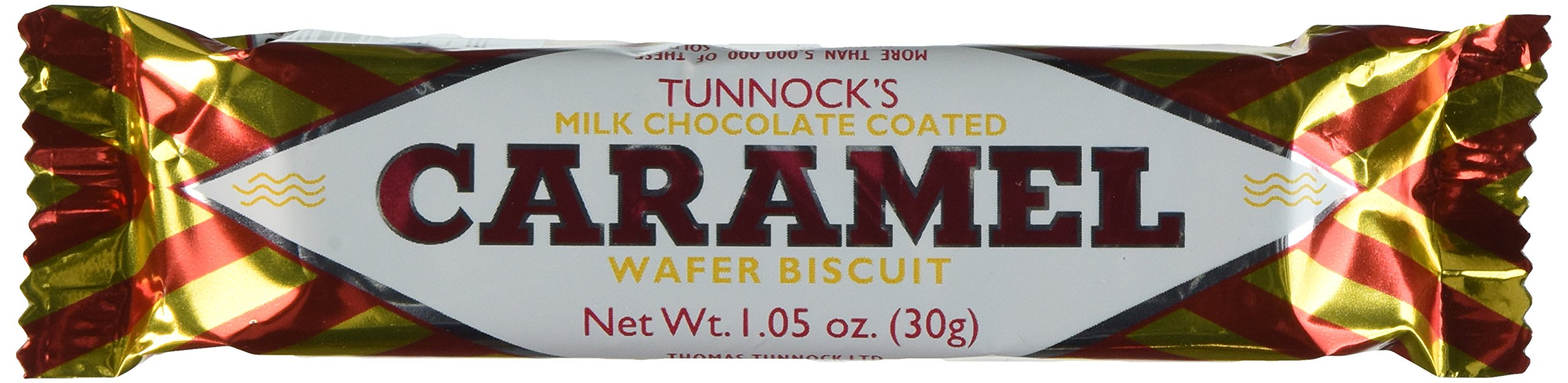 Tunnock's Caramel Wafer Biscuits 30g (Box of 48)