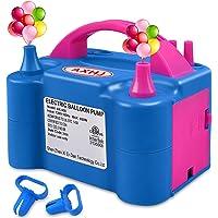 Portable Balloon Pump Electric, 2020 New Dual Nozzle 110V 600W Air Inflator Blower for Balloon Arch, Balloon Column…