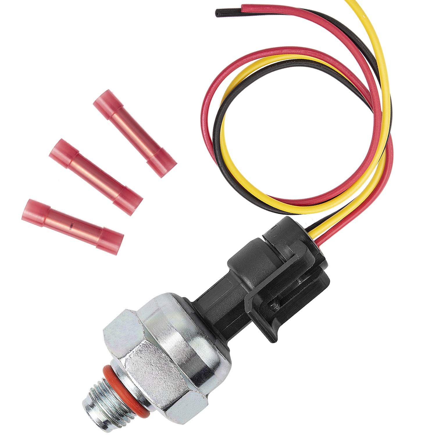 YAOPEI 7.3 ICP Sensor for 1995-2003 Ford 7.3L Powerstroke with Pigtail Harness Kit Injector Control Pressure Sensor 1807329C92 ICP102 HONORY USA