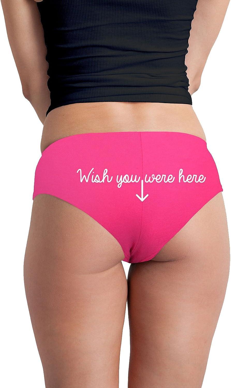 Decal Serpent Wish You were Here Arrow Funny Womens Boyshort Underwear Panties