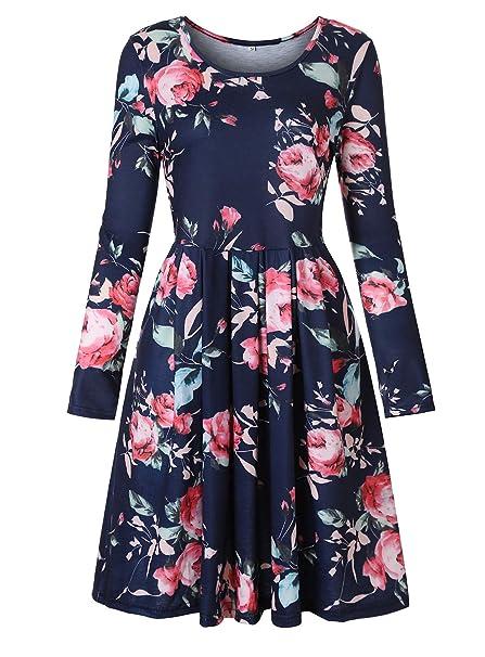 444b43d901c Luranee Navy Dresses for Women