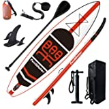 "FunWater Inflatable Stand Up Paddle Board 11'×33""×6"" Ultra-Light (18.5lbs) SUP for All Skill Levels Everything Included with"