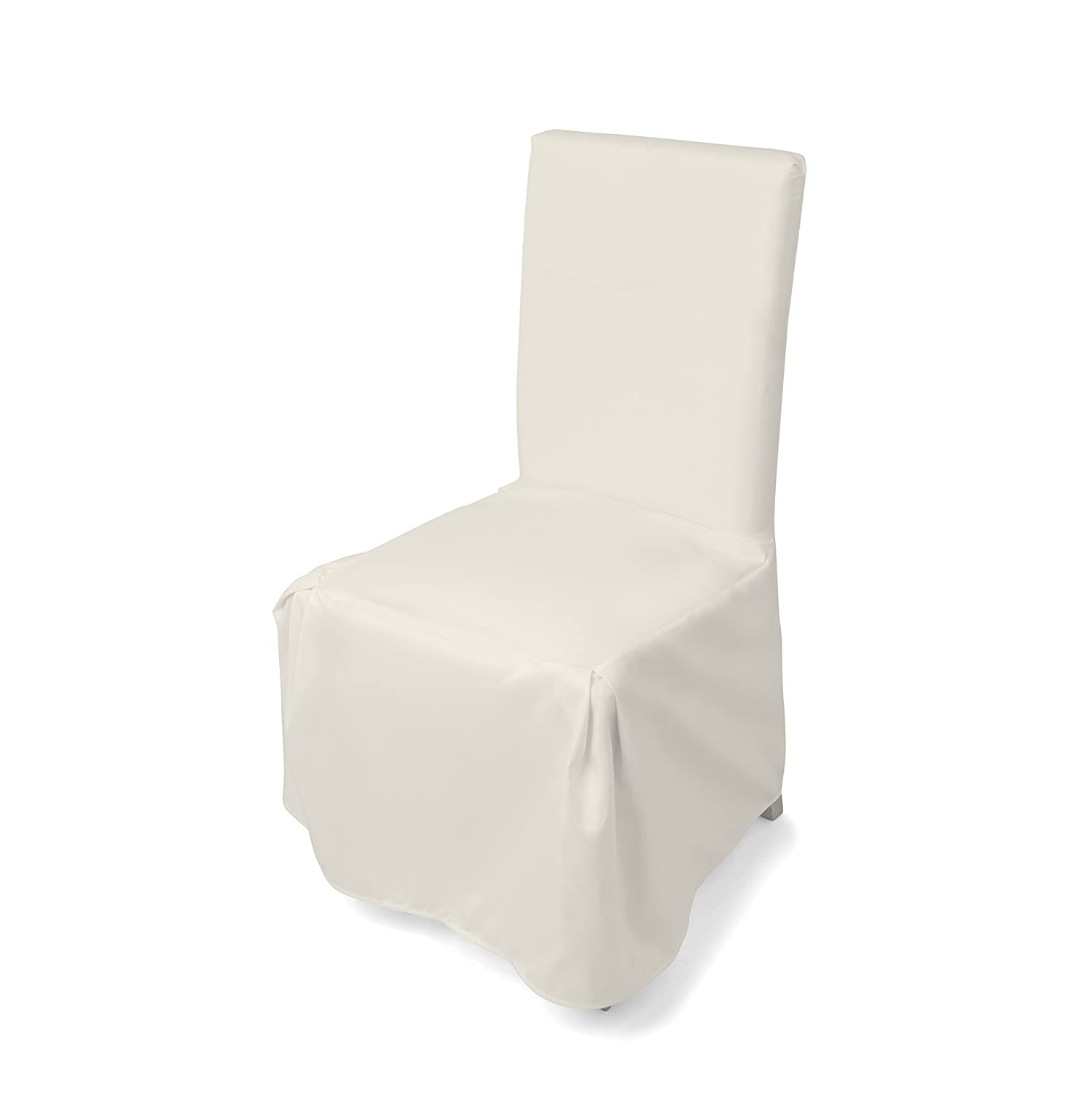 Fløyen Home Universal CHAIR COVER/Throw-over/Chair Cover, 100% polyester, beige, 50 x 50 x 100 cm Latupo LP-4179