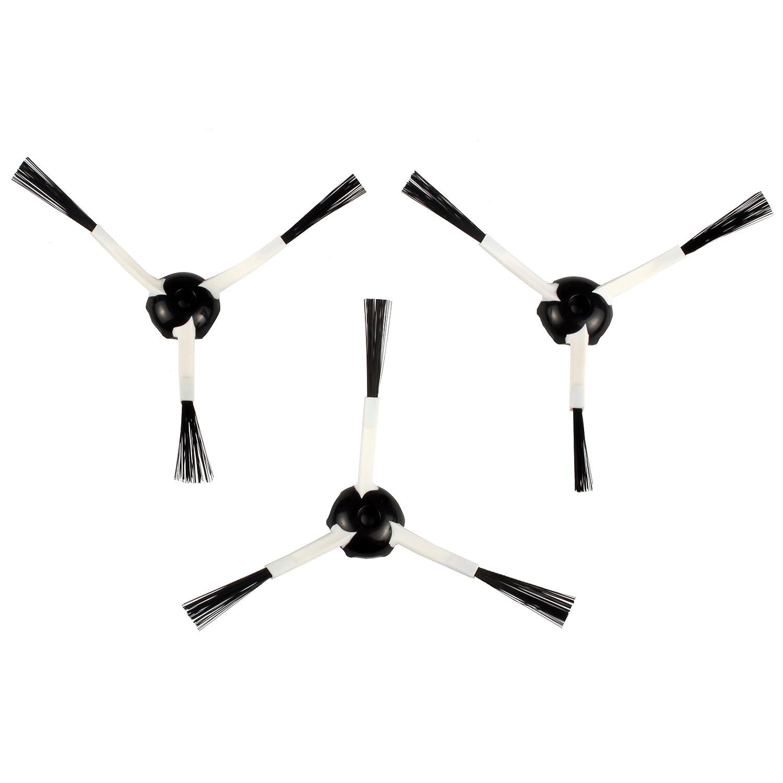Menalux 900167085 MRB 01 Spazzole Laterali per iRobot 500, 600 & 700 9001670851 MRB01_Blanco