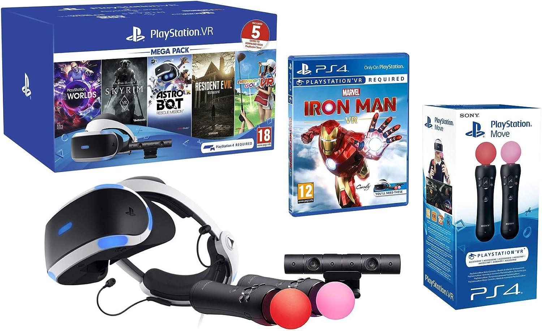 PlayStation VR2 MegaPack 2 Marvels Iron Man VR + Astro Bot + ...