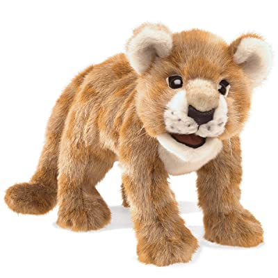 Folkmanis African Lion Cub Hand Puppet Plush