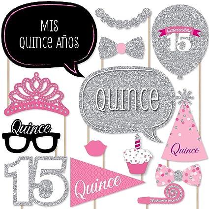 Amazon.com: quinceañera Rosa – Sweet 15 – Fiesta de ...