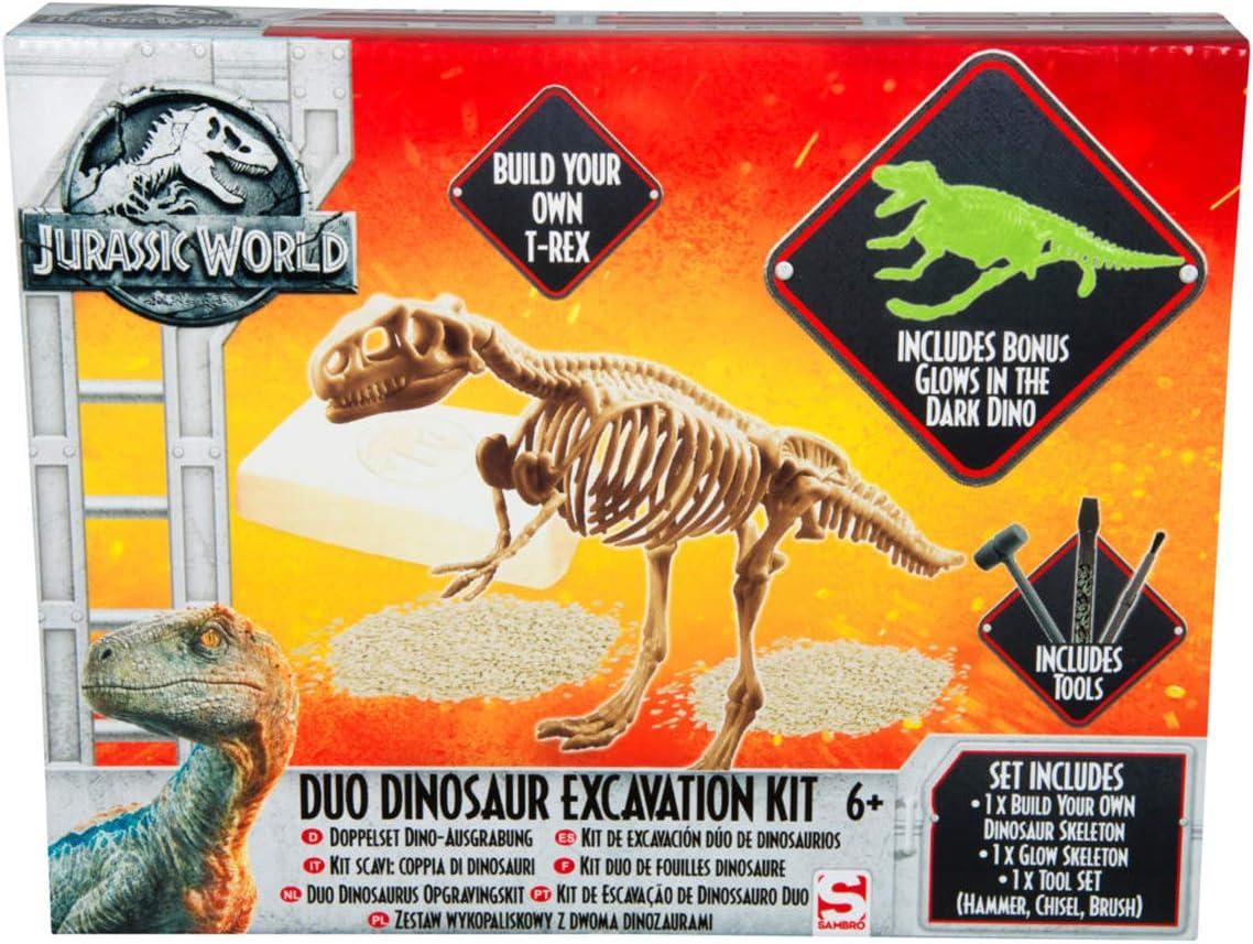 Unbekannt Sambro juw de 3303 Juego de Desenterrar Dinosaurios, Jurassic World, Multicolor: Amazon.es: Juguetes y juegos