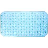 Bambury PVC Bath Mat Bath Mat, Blue