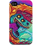 Hyper Beast Csgo Hard Plastic Snap-On Case Cover For iPhone 4 / iPhone 4s