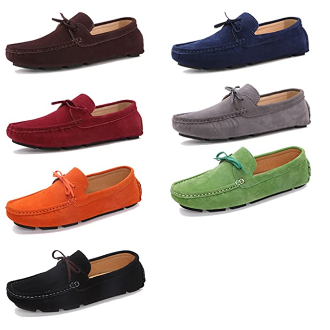 Amazon.com | Dahanyi Stylish Autumn Women Loafers Moccasin Homme Casual Suede Leather Shoes Moccasins Slip On Woman Shoes Mocasines | Loafers & Slip-Ons