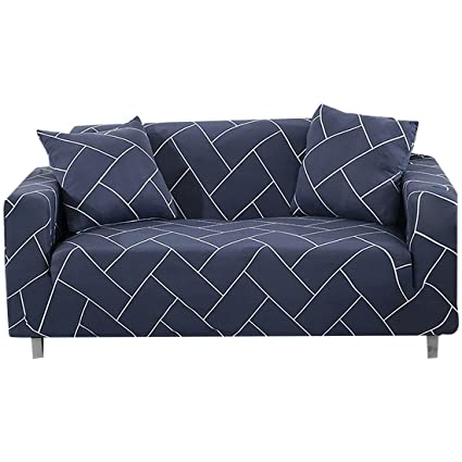 Amazoncom Forcheer Stretch Couch Cover Printed Pattern Large Sofa