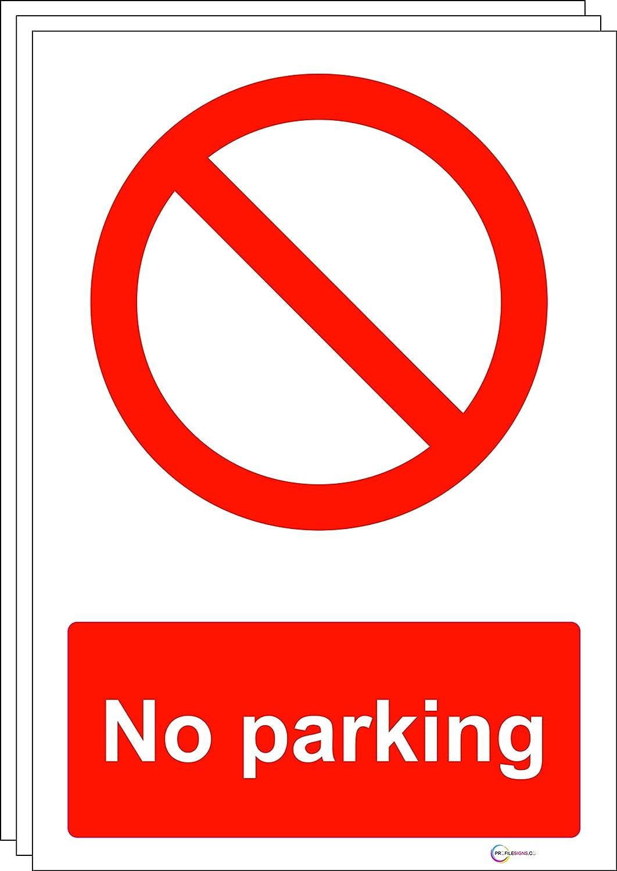 Rigid Pvc No Parking Portrait