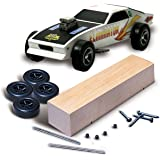 Woodland Scenics Pine Car Derby Kit Basic