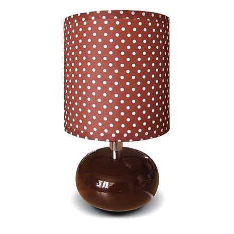 Moderna Lámpara de mesa estilo retro - 1 focos Base de ...