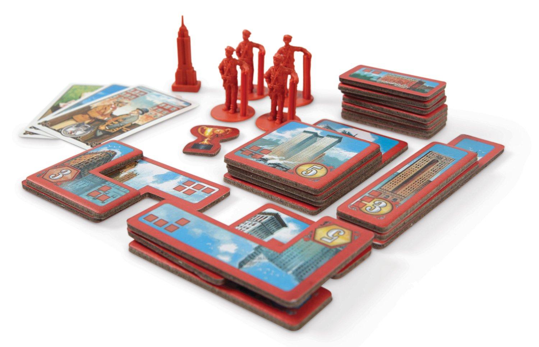 Case Blue Board Game : New york 1901 board game blue orange 2300 christmas presents