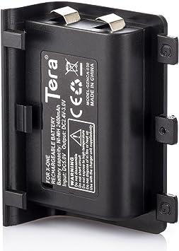 Tera Reemplazo de la Bateria 2400 mAh para Mando Inalambrico XBOX ONE Microsoft con Toallita de Limpieza de Regalo: Amazon.es: Electrónica