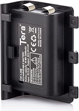 Tera Reemplazo de la Bateria 2400 mAh para Mando Inalambrico XBOX ...