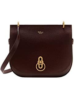 13e706372d88 Mulberry Brockwell Small Classic Grain Leather Satchel Bag