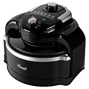 Rosewill 7.4-QT Air Fryer with Accessories, 1000W Turbo Air Fryer, 7-Liter Large Capacity Infrared Multicooker with Temperature and Timer Settings - RHCO-19001