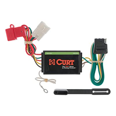 CURT 56039 Vehicle-Side Custom 4-Pin Trailer Wiring Harness for Select Mitsubishi Endeavor SUV: Automotive