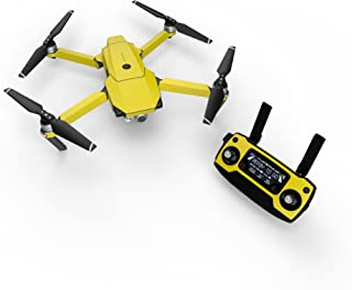 product image for Solid State Yellow Decal for Drone DJI Mavic Pro Kit - Includes Drone Skin, Controller Skin and 3 Battery Skins
