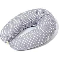Coussin d'Allaitement et Coussin de Grossesse pour Dormir ✔ Maternité ✔ Bebe,Taie 100% Coton Amovible et Lavable dans Différents Modèles|Niimo Fabriqué dans UE