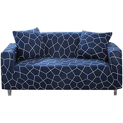 FORCHEER Stretch Sofa Slipcover Spandex Big Printed Pattern Couch Covers  for Living Room Pets 1PC (Big Sofa, Slf)