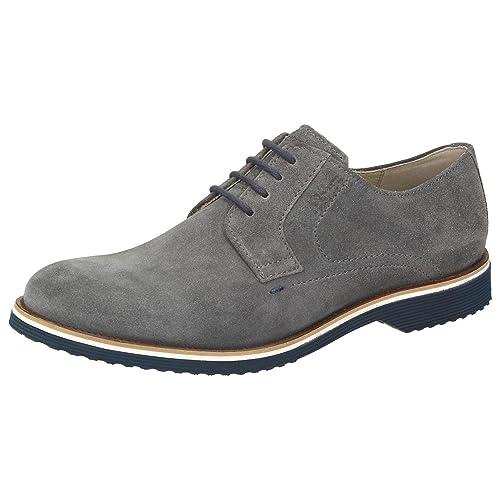 Sioux De Para Gris Hombre Piel Zapatos Cordones Color Gris rqw5Zr 46e57d4f9d7f0
