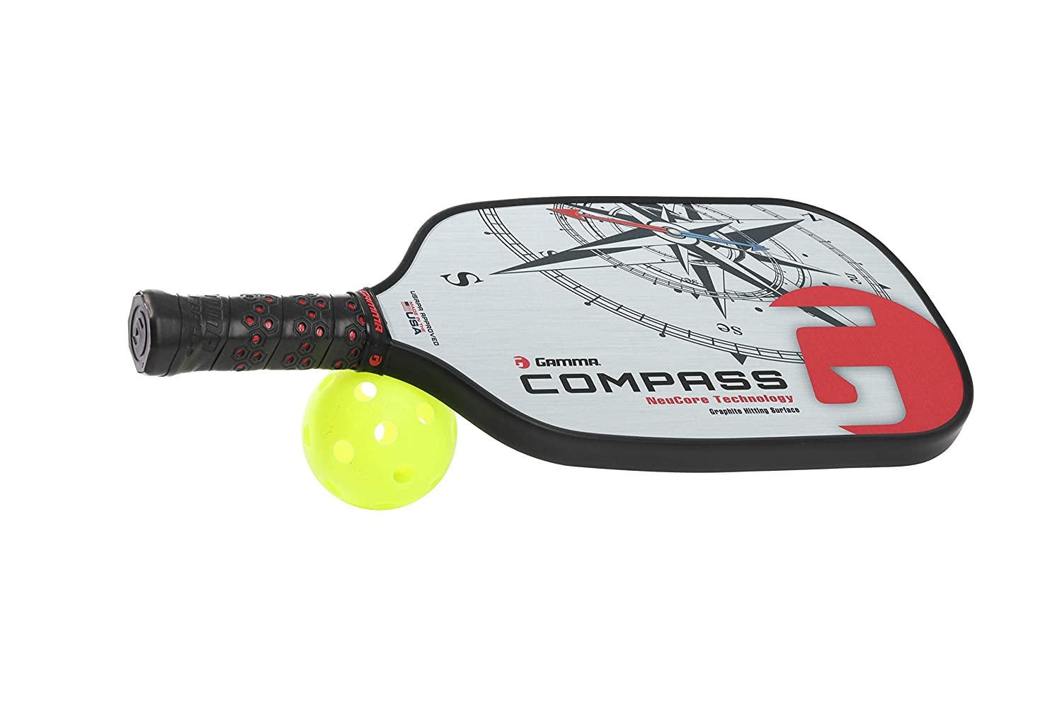 Gamma Brújula NeuCore Pickleball Paddle: Amazon.es: Deportes y ...