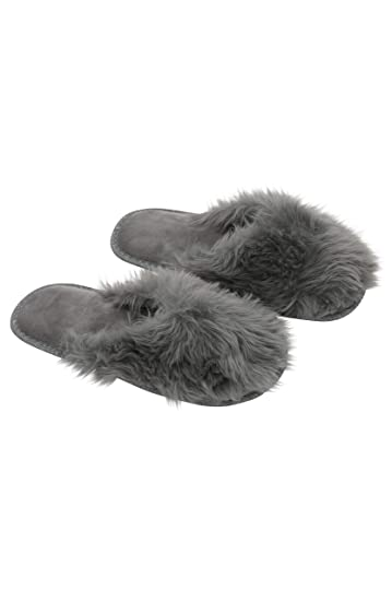 fb02b7488a4 Women s Furry House   Bedroom Slippers - Soft   Cozy Faux Fur Slip Ons by  Blis
