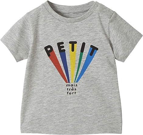 Vertbaudet T-Shirt b/éb/é Fille Motif ludique