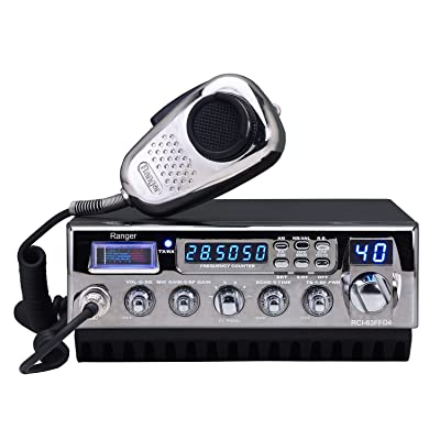 Ranger RCI-63FFD4 400 Watt 10 Meter Mobile Amateur Transceiver: Car Electronics
