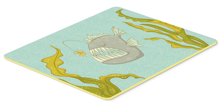 Caroline 's Treasures bb8541jcmt Frog魚キッチンマット、24hx36 W、マルチカラー   B074F4MBZX